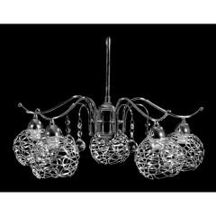 Φωτιστικά Κρύσταλλα - 1012 ΠΕΝΤΑΦΩΤΟ ΦΩΤΙΣΤΙΚΑ Φωτιστικά - Paraskevopoulos Lighting πολυέλαιοι κρεμαστοί