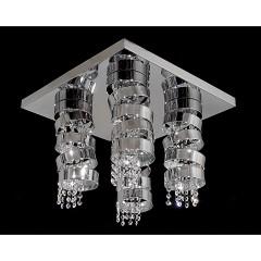 Φωτιστικά Κρύσταλλα - 691 ΟΡΟΦΗΣ ΤΕΤΡΑΓΩΝΟ ΦΩΤΙΣΤΙΚΑ Φωτιστικά - Paraskevopoulos Lighting